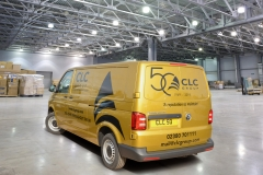 Gold Van 50th Anniversary Back