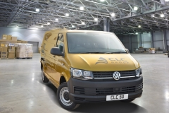 Gold Van 50th Anniversary Front