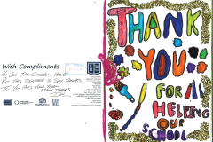 Kings Road_Manchester_Thank you card