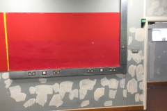 Ridge-Academy-Pre-Paint-Filled-Wall-in-Classroom