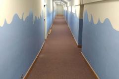 Ridge-Academy-School-Hallway-Before