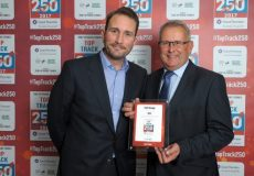 Managing Director, Nick Hilton and Phil Armitage, Commercial Director collecting our award