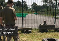 Enhance learning area for Service children